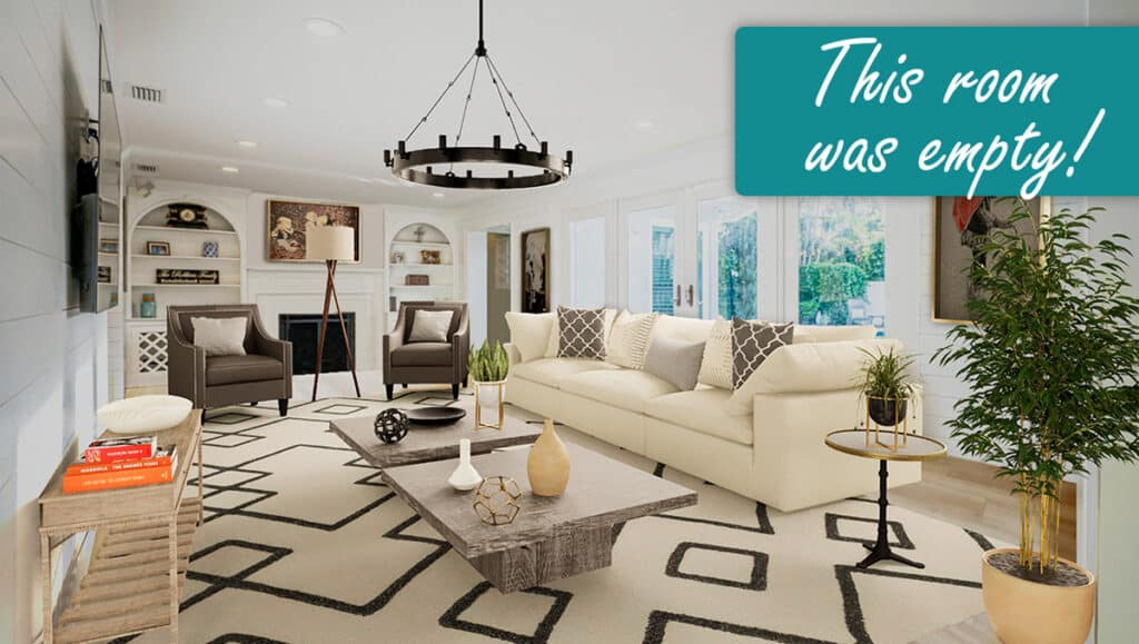 Virtual Staging by JetStager - Offered by REBRAND Dallas